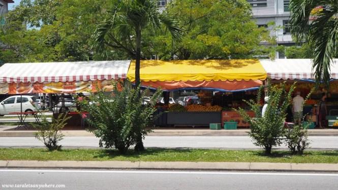 Fruit stall in Kuala Lumpur