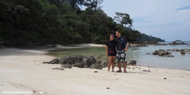 Couple shot in Koh Lipe, Thailand