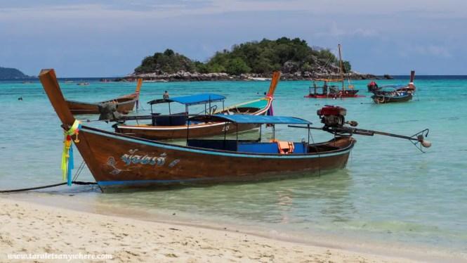 Boat in Koh Lipe, Thailand