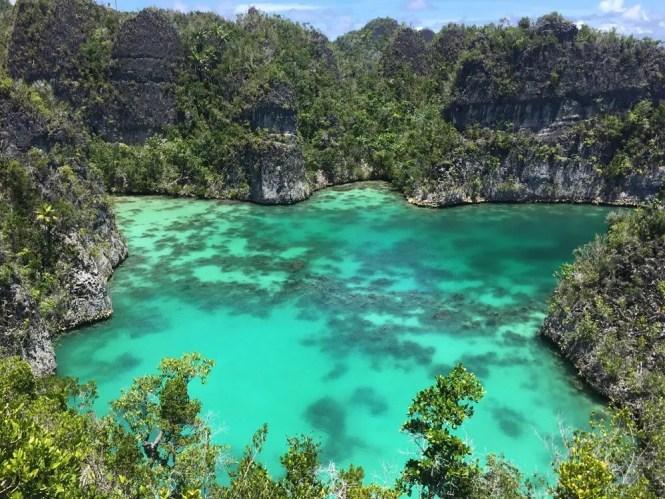 Bintang Lake, Raja Ampat, Indonesia