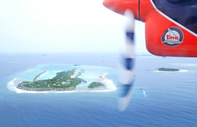 Things to do in Maldives - ride a sea plane
