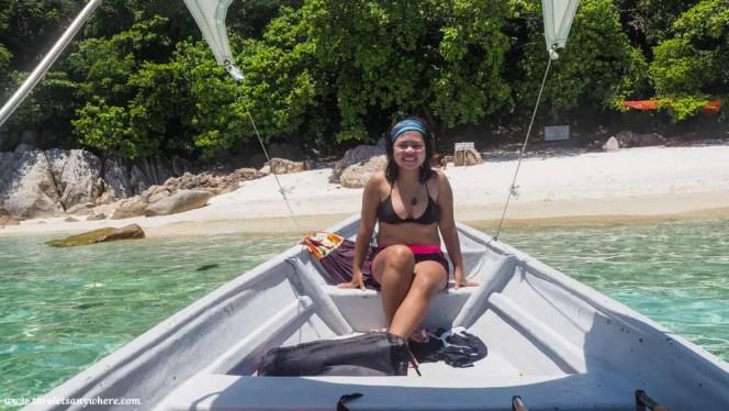 Katherine in Rawa Island