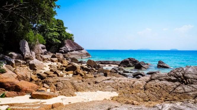 Random beach in Perhentian Kecil, Perhentian Islands, Malaysia
