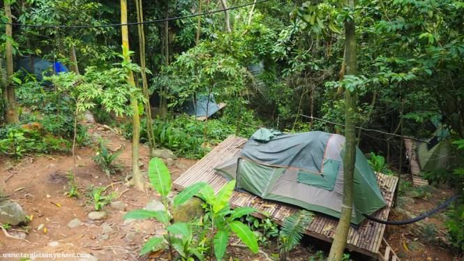 Orang Hutan campsite, Perhentian Kecil, Malaysia