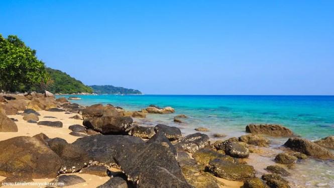 Petani Beach, Perhentian Kecil, Malaysia