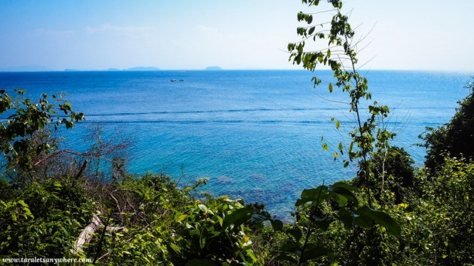 View from trail in Perhentian Kecil