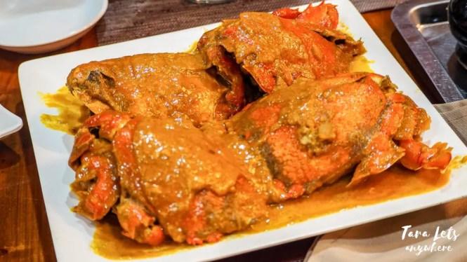 Alavar Seafood Restaurant - curacha with alavar sauce