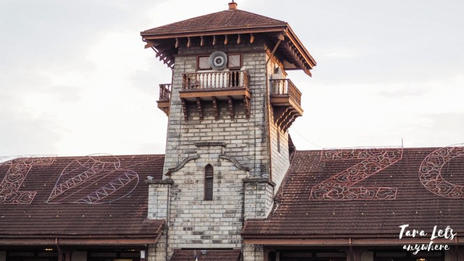 Close up of City Hall in Zamboanga City