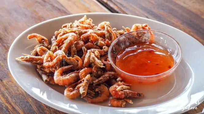 Vista del Mar Restaurant - crispy shrimp