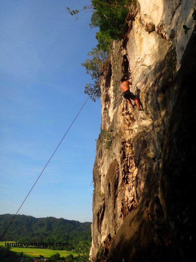 Adventures in the Philippines - rock climbing in Atimonan, Quezon