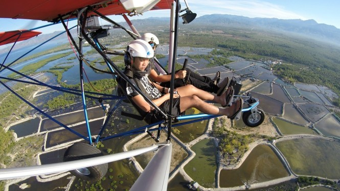 PH adventure collab - ultralight flying in Davao