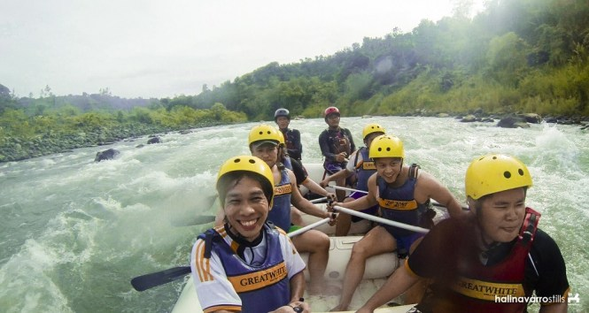 Adventures in the Philippines - white water rafting in Cagayan de Oro