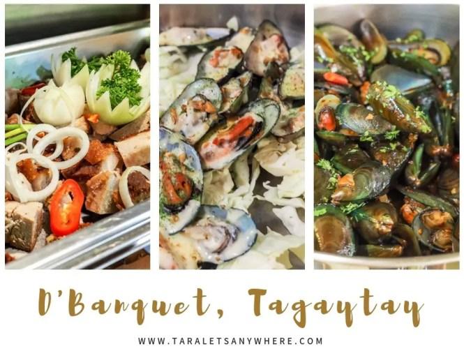 D' Banquet, Tagaytay | D' Banquet buffet | D' Banquet restaurant review