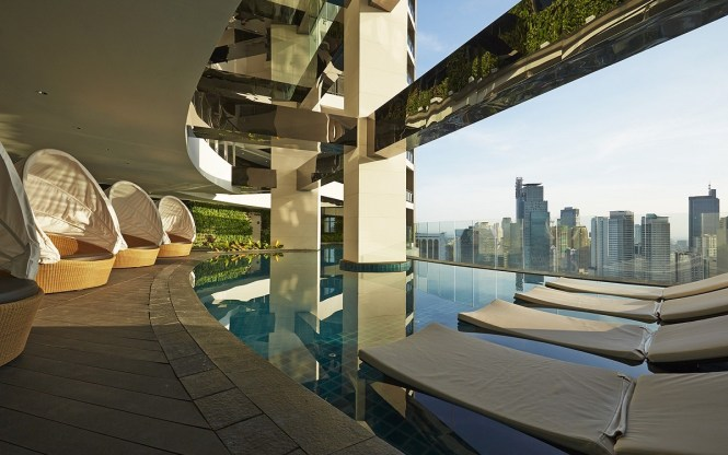 Manila staycations with infinity pool - Gramercy Residences