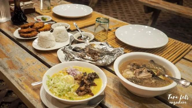 Set meal in Punta Verde Resort