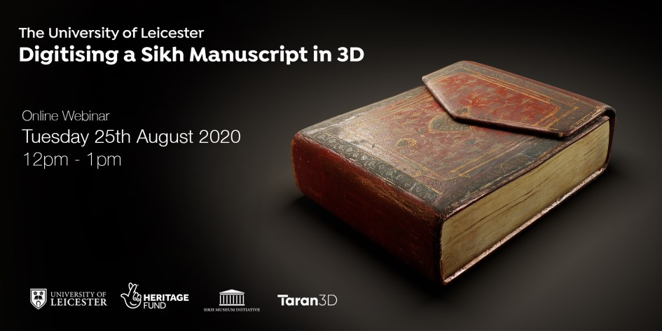 3D Digital Sikh Manuscript brought to life by Taran3D