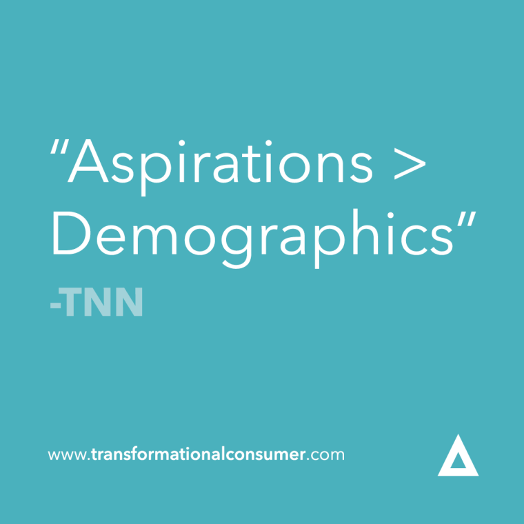 aspirations > demographics