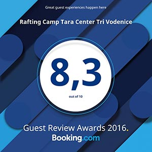 Booking.com award for 2016