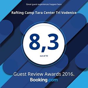 Booking.com award for 2016