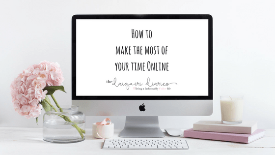 How To Use Your Time Online
