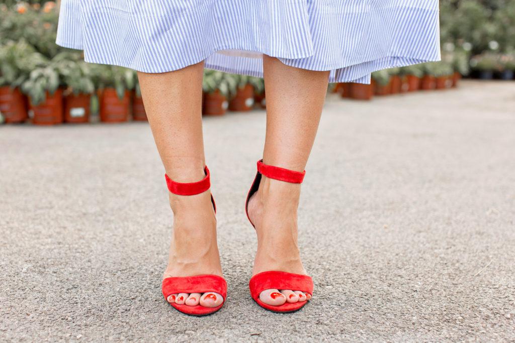 jeffrey campbell red heel