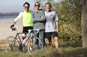Guests Biking at Tara