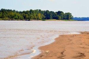 The Lower Mississippi River near Vicksburg