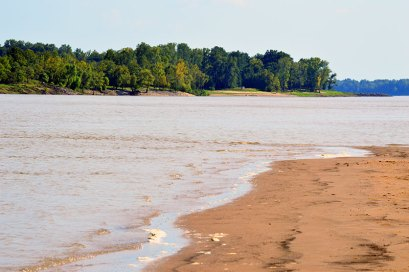The Lower Mississippi River near Vicksburg