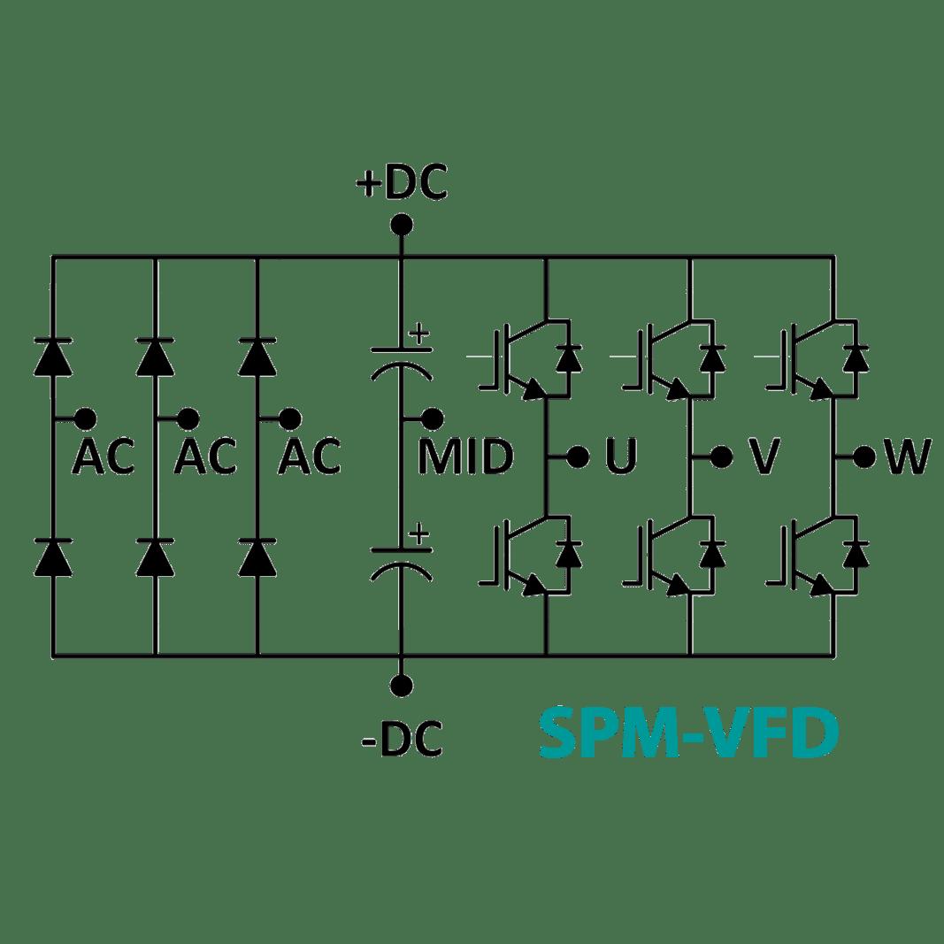 Spm Vfd 3 Phase Inverter Power Module