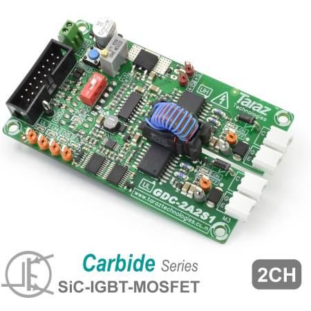 GDC-2A2S1 SiC Gate Driver Module Board