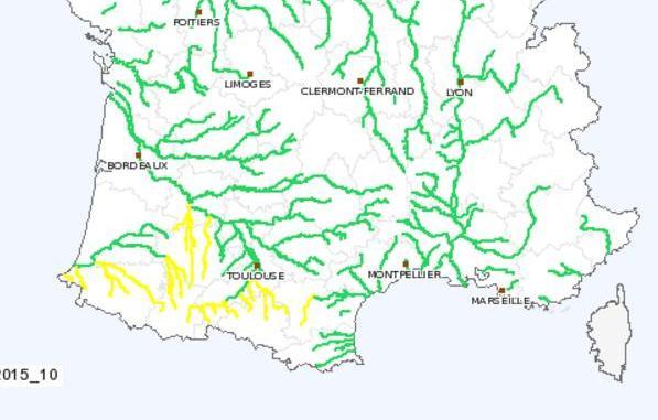 Pluies Inondations : le bassin Adour Garonne sous surveillance