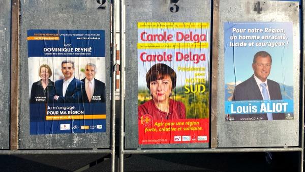 Carole Delga élue présidente de la région Midi Pyrénées Languedoc Roussillon