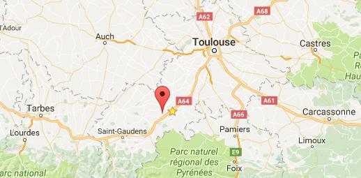 L'A64 partiellement fermée entre Tarbes et Toulouse