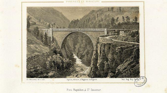 Luz Saint Sauveur. un cadavre découvert au pied du pont Napoléon