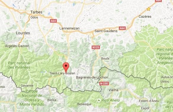 accident parapente Hautes Pyrénées Louron Azet