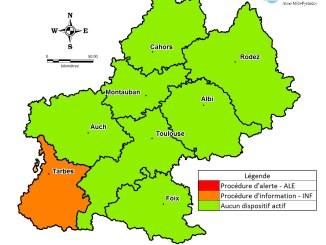 Tarbes et les Hautes Pyrénées en alerte pollution de l'air