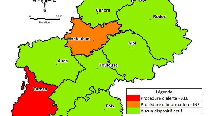 Alerte pollution à Tarbes, Lourdes et toutes les Hautes Pyrénées