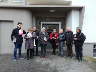 à Tarbes, les soutiens de Benoit Hamon nombreux quartier Debussy
