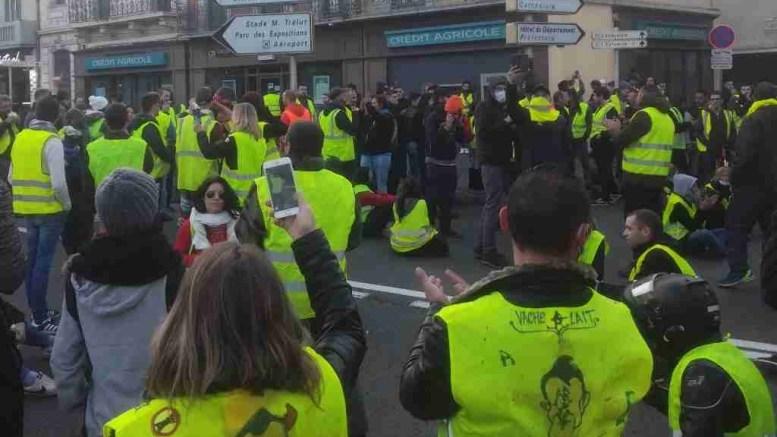 Acte6, les Gilets Jaunes manifestent à Tarbes, Vic et Lannemezan