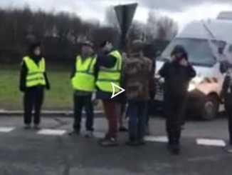 Le préfet fait évacuer de force les occupations des Gilets Jaunes sur l'A64 de Tarbes à Lannemezan