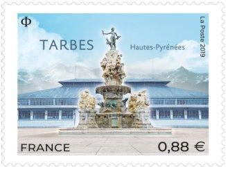 La Poste lance un timbre sur Tarbes