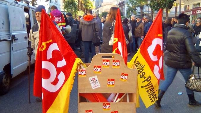 Plusieurs centaines de manifestants à Tarbes contre la réforme des retraites