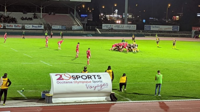 Rugby. Tarbes battu par Albi