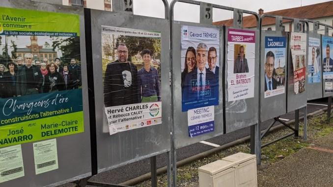 Municipales à Tarbes, il y aura deux listes de droite au second tour