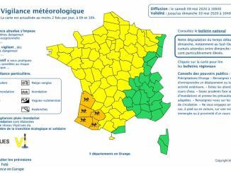 Tarbes et les Hautes Pyrénées en alerte orange inondations