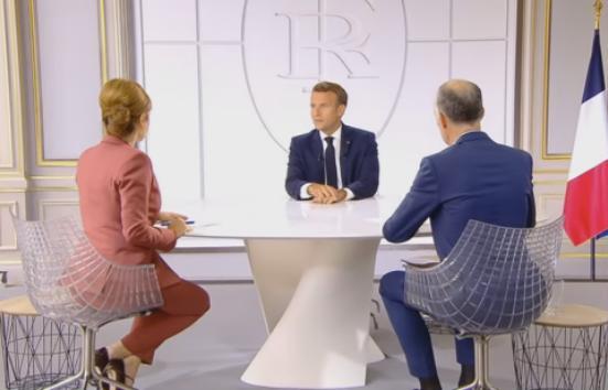 Masques Obligatoires, Retraites, Chômage, ce que Macron à dit