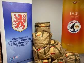 entre Toulouse et Tarbes saisie record Cannabis