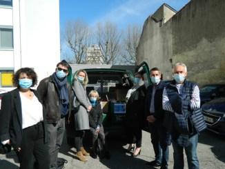 Solidarité avec les étudiants Tarbais : collecte de produits d'hygiène