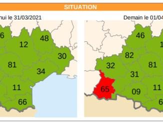 Episode de pollution prévu sur le département des Hautes-Pyrénées