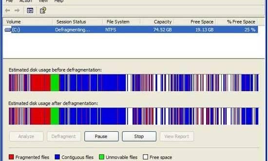 طريقة إلغاء تجزئة التسجيل في جهاز الكمبيوتر